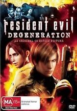Horror Resident Evil DVD Movies