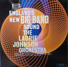 LAURIE JOHNSON ORCH. - ENGLAND'S NEW BIG BAND - COLPIX LP (GOLD LBL)