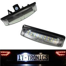 Kennzeichenbeleuchtung LED Lichter für Toyota Camry Avensis Verso Echo 4D Prius