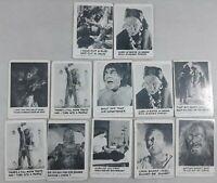 1961 LEAF Spook Stories LOT of 12 cards