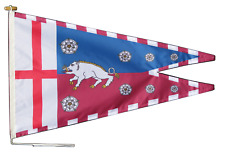 More details for richard iii personal banner flag with rope and toggle - various sizes