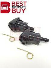Toyota Wiper Washer Windshield Nozzle Jet Spray Pair Fit Vios 2003 04 05 06 07