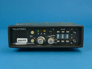 Teletron FuG 8b-1, Funk/BOS/4m/Funkgerät/Feuerwehr