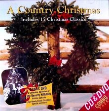 A Country Christmas Music (New CD + DVD 2010) Fargo Greene Stampley **Free Ship