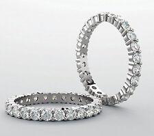 2.70 carat Platinum round Diamond Eternity Ring Band 18 x 0.15 ct G VS2