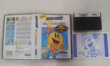 Pacmania Game Sega Master System SMS Boxed Complete PAL