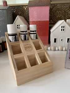 Young Living Essential Oils Wooden Vitality Holder Box, Sold out item!