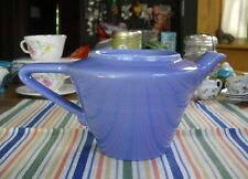 Vintage Homer Laughlin Harlequin BLUE MAUVE Tea Pot Teapot Bottom Fiesta ~