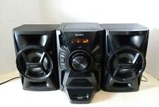 Sony MHC-EC609iP Mini Hi-Fi Component System iPod CD Stereo Shelf Speakers 100W