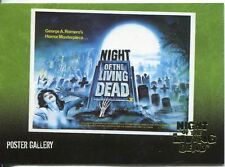 Night Of The Living Dead Gold Foil Chase Card  F5   George A. Romero's Horror