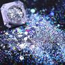 Holographic Nail Powder Glitter Sequins Holo Flake Nail Art Decorations