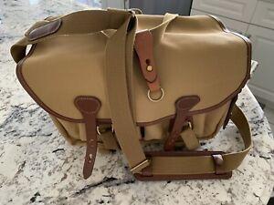 New Billingham 335 Camera Bag #503033, Kahki/Tan, unused with cool extras!