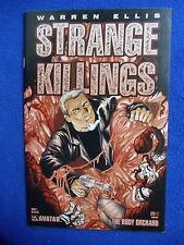 ~~ STRANGE KILLINGS #1 ~ WARREN ELLIS ~AVATAR PRESS ~ 2002 ~~