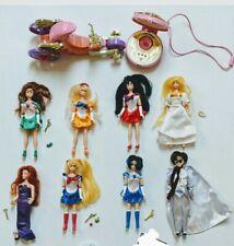 "Eight Vintage Sailor Moon 6"" Adventure Dolls BanDai 1995 & other items."