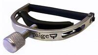 PAIGE Clik Original 6-String Electric Guitar Capo X-treme String Bending, P-6N-Z