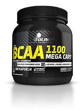 Olimp BCAA Mega Caps 1100 Aminosäuren - 300 Kapseln