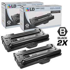 LD © Fits Samsung SCX-4100D3 Set of 2 Black Toner Samsung SCX-4100