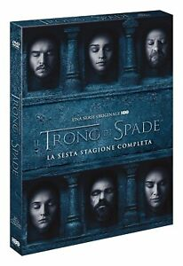 Il Trono di Spade - Stagione 6 - 5 Dvd - Slipcase - Nuovo Sigillato