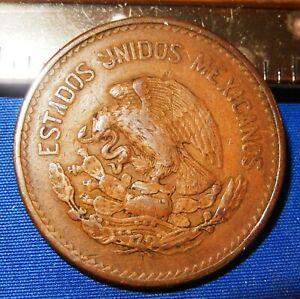 1944 Mexico 20 Centavos - Extra Fine Condition