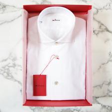 Kiton Cotton Shirt in White
