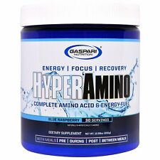 Hyperamino, Complete Amino Acid & Energy Fuel, Blue Raspberry, 10.58 oz (300 g)