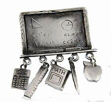 6030544 Math Teacher Brooch Pin Teacher Appreciation Gift Present Year End Al...