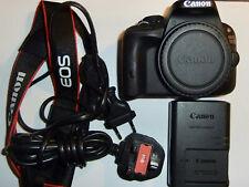 Canon EOS 100D DSLR Camera Body Lehan 600 shutter actuations. Great condition