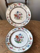 Copeland Spode Chinese Rose Dinner Plate Vintage China