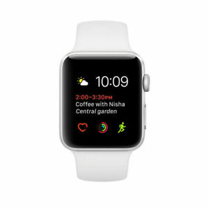 Apple Watch Series 7000 42mm Silver Aluminum Case Sport Band A GRADE