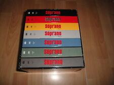 LOS SOPRANO EN DVD COLECCION COMPLETA SERIE DE TV 6 TEMPORADAS + 1 BUEN ESTADO