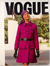 LIBRO Parigi VOGUE Pattern VINTAGE Couturier Fashion Design catalogo EMANUEL UNGARO