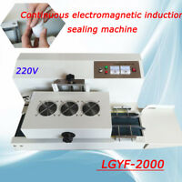 220V Continuous LGYF-2000 Induction Sealer Machine USA Foil Laminate Inner