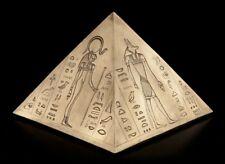 Ägyptische Tier-Urne - Pyramide groß - Hund Katze Urne Tierurne Hundeurne