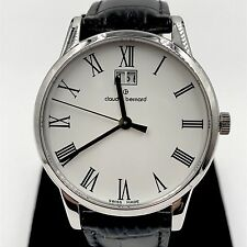 Claude Bernard Men's Watch 63003 3 BR Classic Gents Analog Display Swiss Quartz