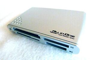 21 in 1- Multi USB All-In-One Card Reader Writer Kartenleser CF, XD/SM, SD, MS