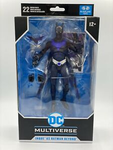 DC Multiverse Batman Beyond INQUE Variant McFarlane TARGET EXCLUSIVE IN-HAND New