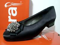 8 ARA Damen-Ballerina Sneaker-Übergrößen-Slipper-HighSoft Technologie-Grau Gr