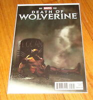 Death of Wolverine #1 Ed McGuinness Mortal Exchange Variant Edition 1st Print