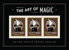 THE ART OF MAGIC USA SOUVENIR SHEET 2018 ~ SPECIAL MOVABLE IMAGE MINT NH