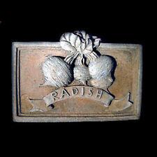 Radish Decorative Wall Relief Sculpture Decorative Relief Sculpture Plaque