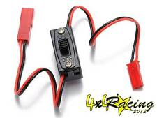 Interruttore RC Ricevente 1/8 1/10 Switch On Off buggy monster hsp rk losi
