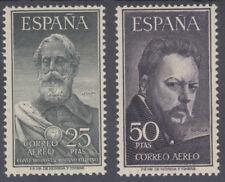 SERIE LEGAZPI Y SOROLLA ** 1124/1125 - AÑO 1953 - CERTIFICADO COMEX