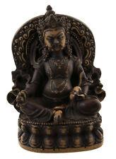 Statue tibetaine Kubera Jambhala Dieu des Richesses Vaishravana 12 cm 25502