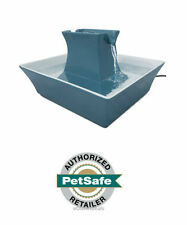 PetSafe Drinkwell PWW00-14898 Blue Stoneware Pagoda Pet Fountain - USA Warranty
