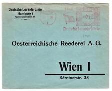 Deutschland Illustrated Postal Meter-Deutsche Levante Linie-Hamburg