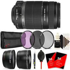 Canon EFS 55-250mm f/4.0-5.6 IS II Complete Lens Kit