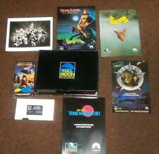 New Rare Full Moon Entertainment Arcade Vhs Sci Fi Promo Box Set W/Posters Promo