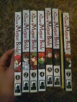 The Ancient Magus Bride Manga Lot Volumes 1-7 + Special Booklet