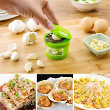 Garlic Perfection Garlic Press Mincer Slicer Chopper with Store 2 Blades