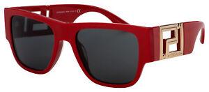 Versace Sunglasses VE 4403 534487 57 Red | Dark Grey Lens
